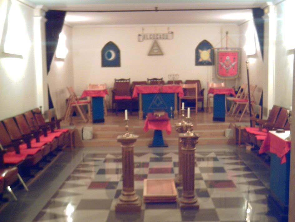 Interior del Templo Masónico de Valladolid