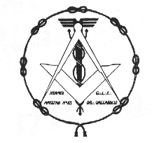Sello de la R.·.L.·. Hermes-Amistad Nº53