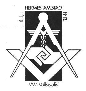 Emblema de a R.·.L.·.Hermes-Amistad Nº12