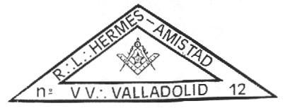 Sello de a R.·.L.·.Hermes-Amistad Nº12